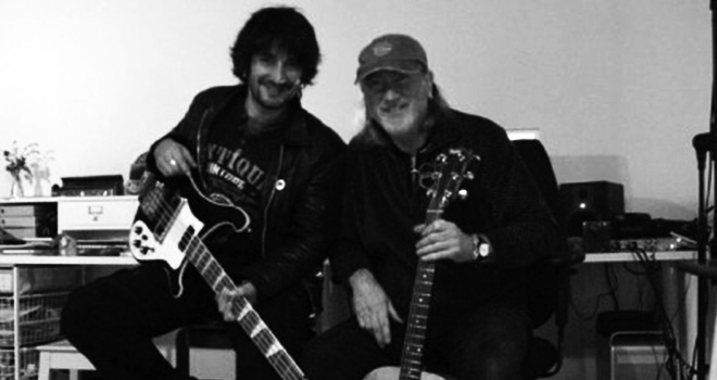 Walther Gallay et Roger Glover