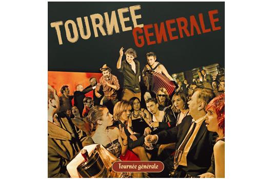 Le nouvel album de Tournée Générale, sorti le 14 avril 2009